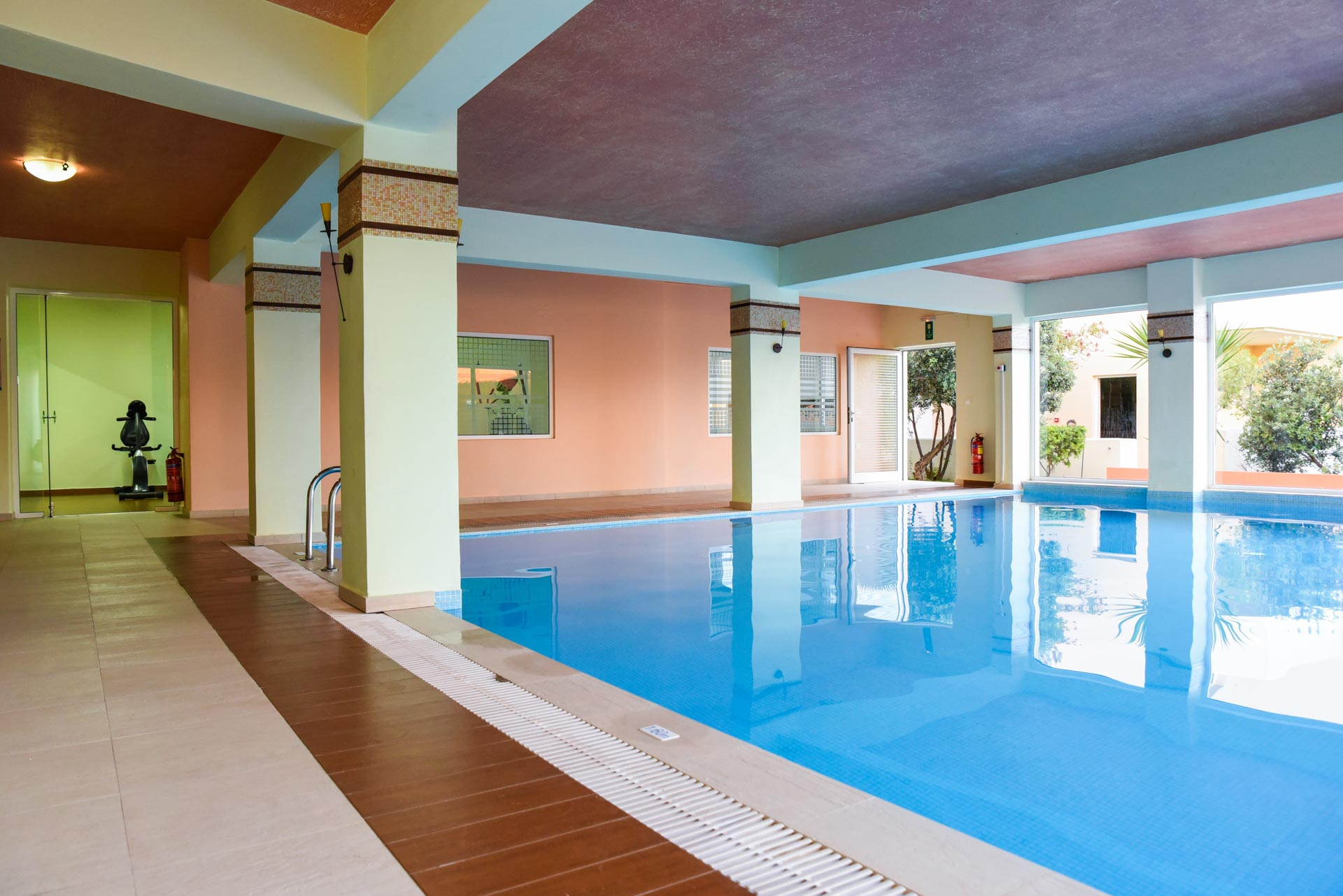 INDOOR POOL & GYM - Theo Hotel | Agia Marina, Chania, Crete